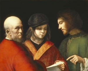 Three Ages Giorgione (Giorgio Barbarelli da Castelfranco)
